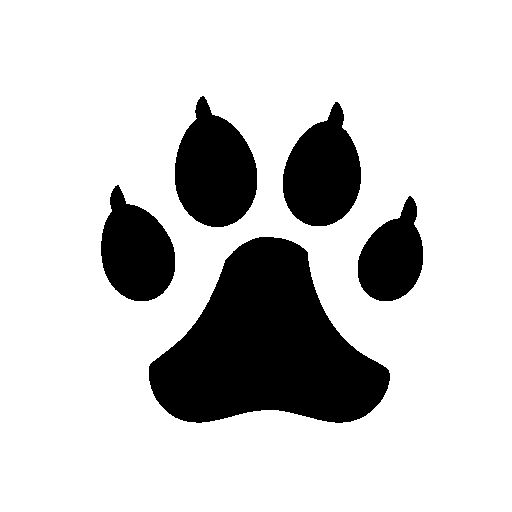 Dog Track Free Vector Icons Designed
