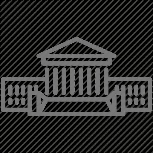 Court, Dc, Judicial, Law, Supreme, Washington Icon