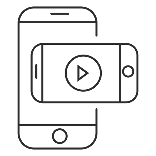 Mobile Video Application Icon