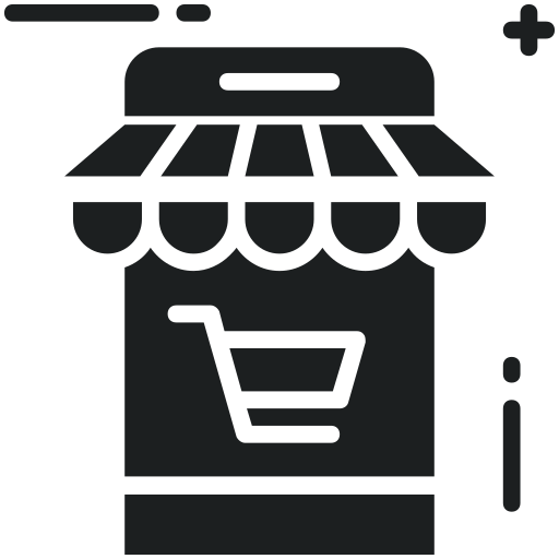 Cellphone, Mobile, Phone, Shopping, Store, App Icon Free