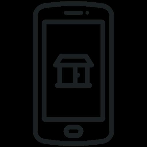 Mobile App Flat Icon