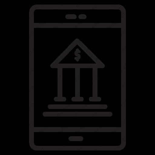 Download Mobile Bank Icon Inventicons