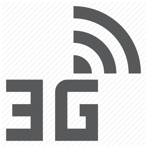 Data Plan, Mobile Network, Signal Icon