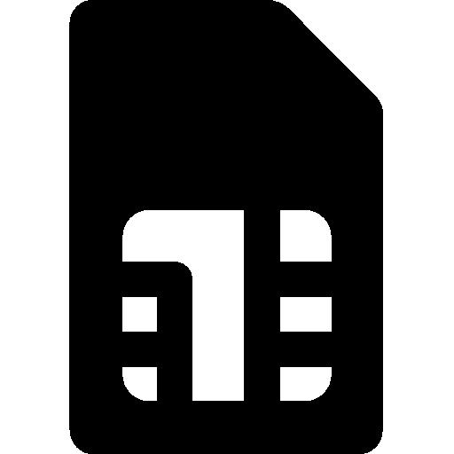 Mobile Sim Card Icon Windows Iconset