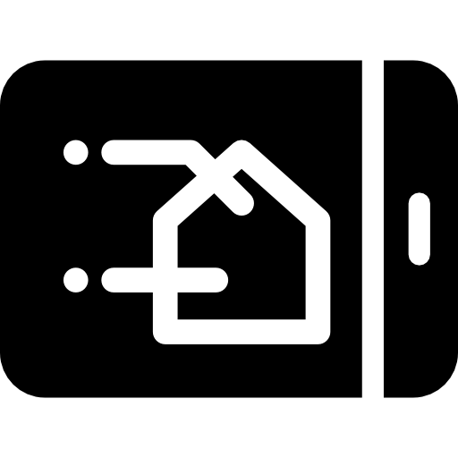 Filled Smart Home Icon