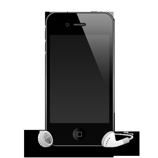 Apple, Headphones, Iphone, Mobile Icon