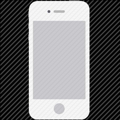Apple, Ios, Mobile, Phone, Smartphone, White Icon