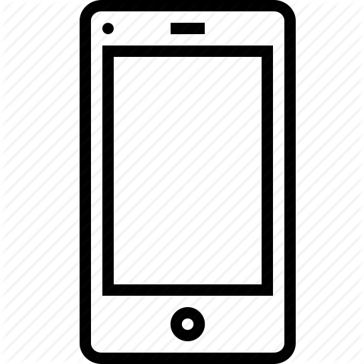 Background, Layout, Mobile, Screen, Touch, White Icon