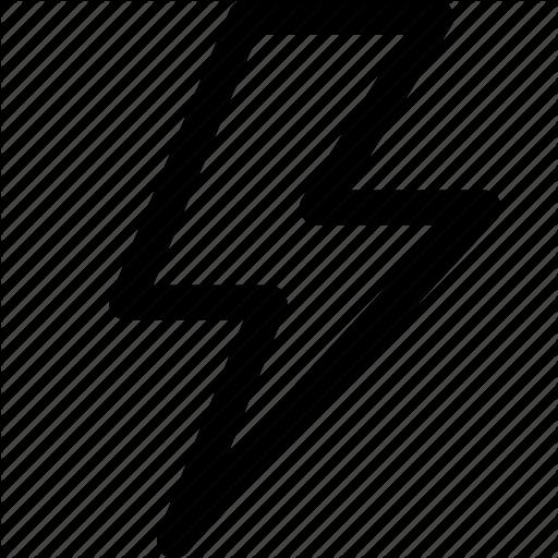 Bolt, Charge, Electricity, Lightning, Lightning Strike Icon