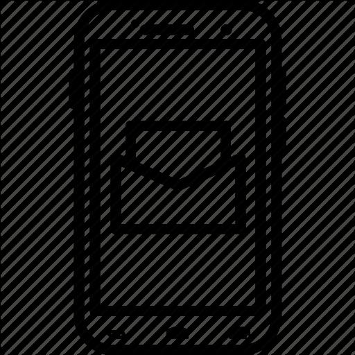Mail, Massage, Mobile, Online, Smartphone, Website Icon