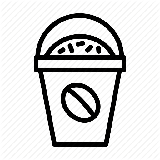 Beverage, Cafe, Coffee, Cookies, Drink, Mocha Icon