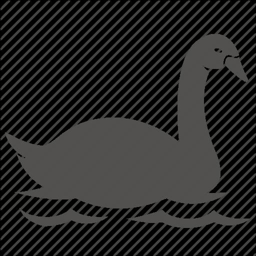 Bird, Duck, Goose, Swan, Water Icon