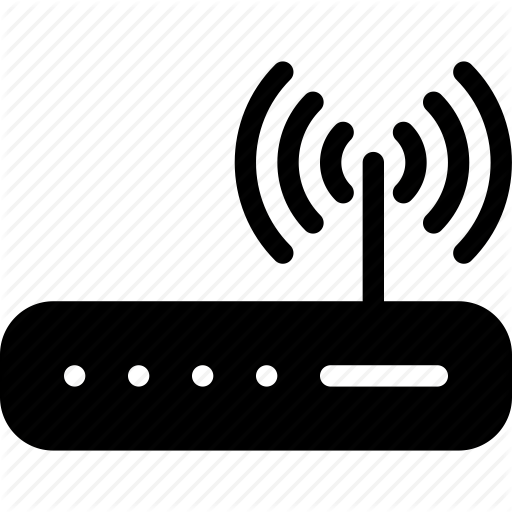 Communication, Modem, Router, Signal, Wifi Icon