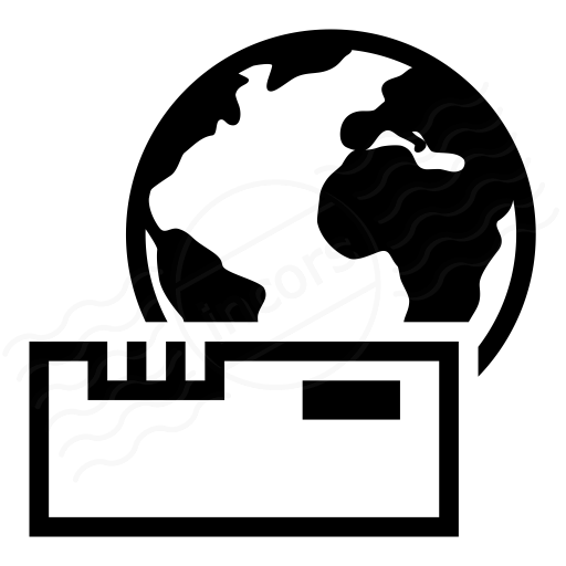 Iconexperience I Collection Modem Earth Icon
