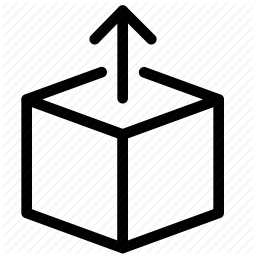 Box, Load, Module, Package Icon