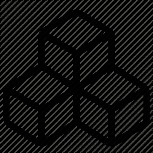 Code, Cube, Module, Plugin, Programming, Three Icon