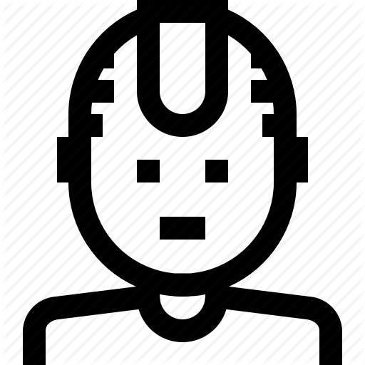 Avatar, Man, Mohawk, Person Icon
