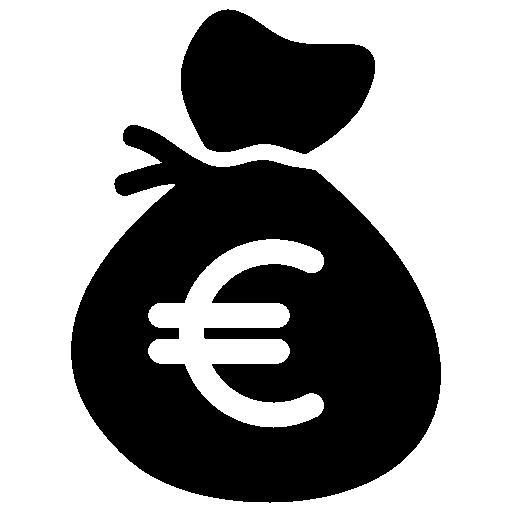 Euro Money Bag Icon Download Free Icons