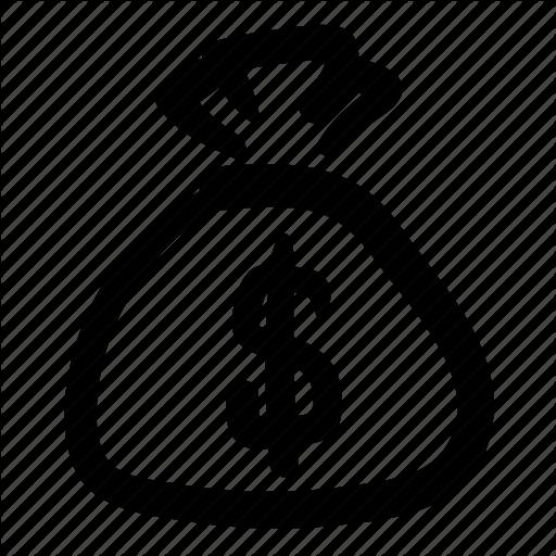 Budget, Business, Cash, Dollar, Doodle, Finance, Money Bag Icon