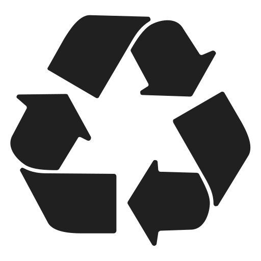Recycle, Mono Icon Free Of Snipicons Mono