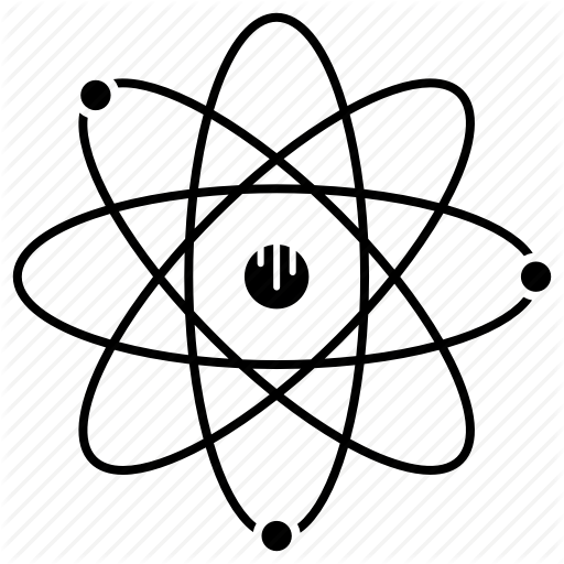 Atom, Electron, Elements, Protons, Science Icon