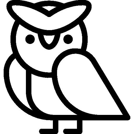 Hunter, Owl, Animals, Bird Icon
