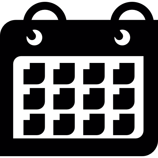 Calendar Month Icons Free Download