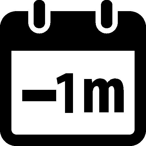 Time Minus Icon Windows Iconset