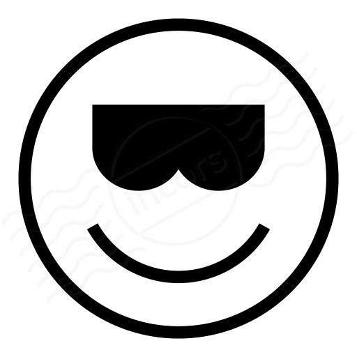Iconexperience I Collection Emoticon Cool Icon