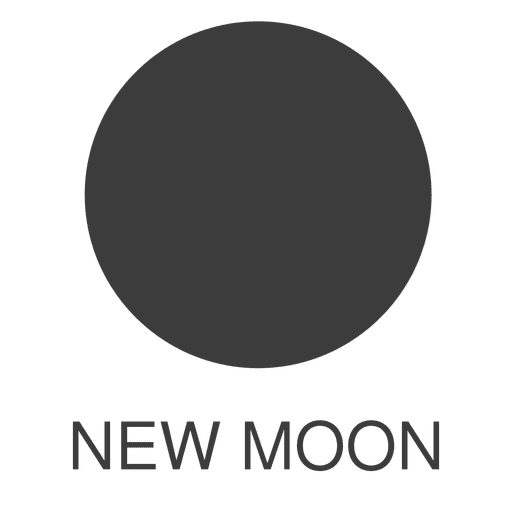 Moon New Moon Icon