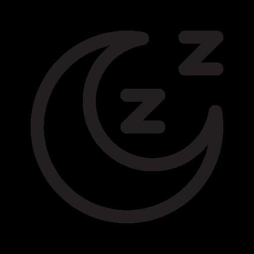 Sleep, Moon Icon Free Of Wondicon