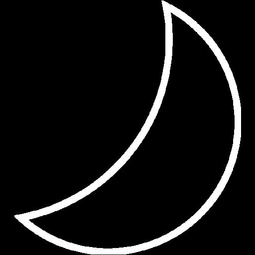 White Moon Icon