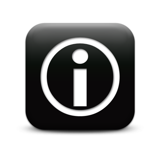 Clipart Information Icon Collection