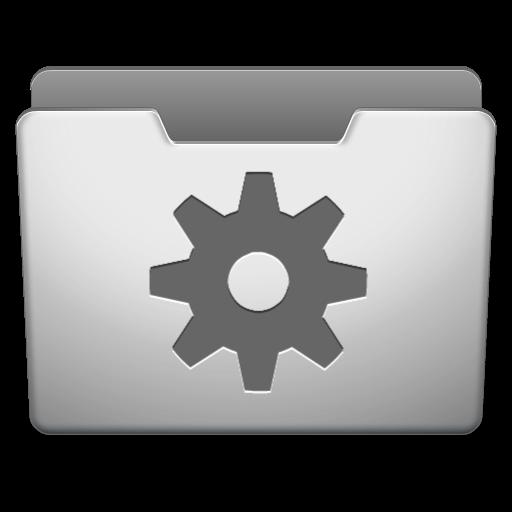 Aluminum Grey Options Icon