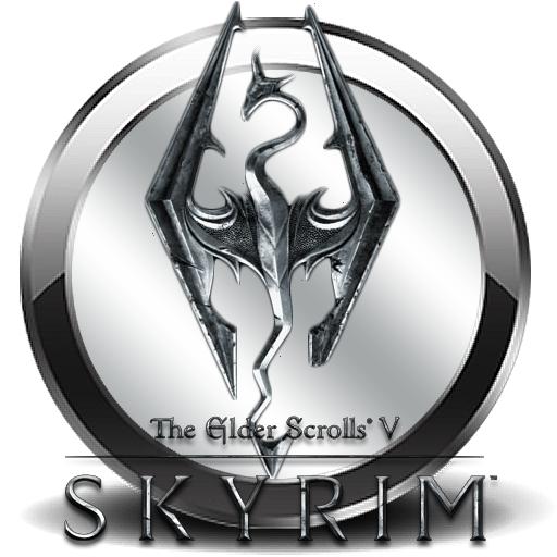 Pics For Skyrim Logo Png