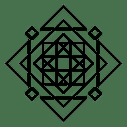 Mosaic Logo Abstract