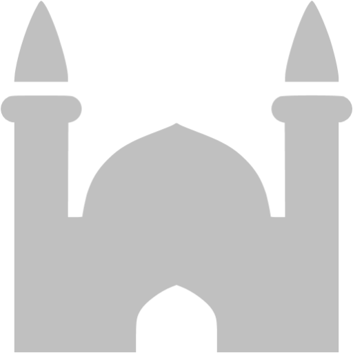 Silver Mosque Icon