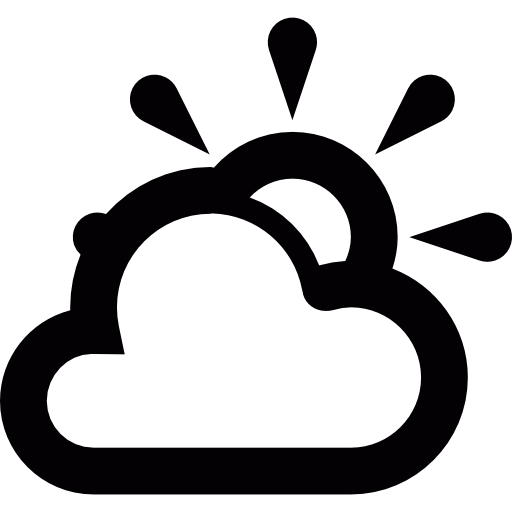 Partly, Weather, Cloud, Sun, Sunny Icon
