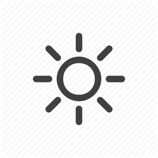 Climate, Hot, Mostly Sunny, Sun, Sunny, Sunrise, Weather Icon