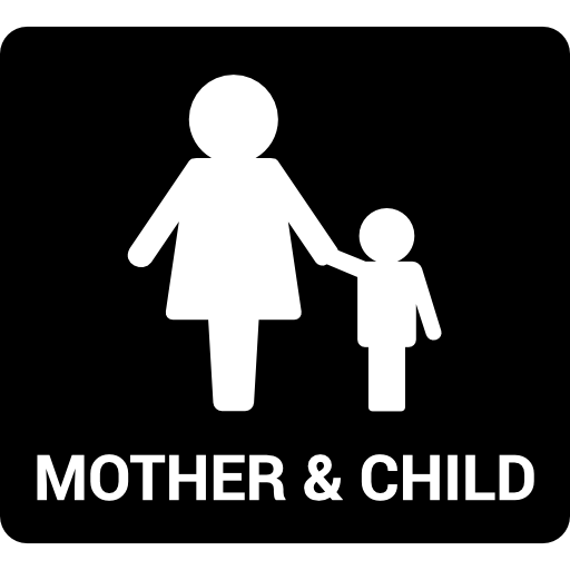 Mother And Child Icons Free Download