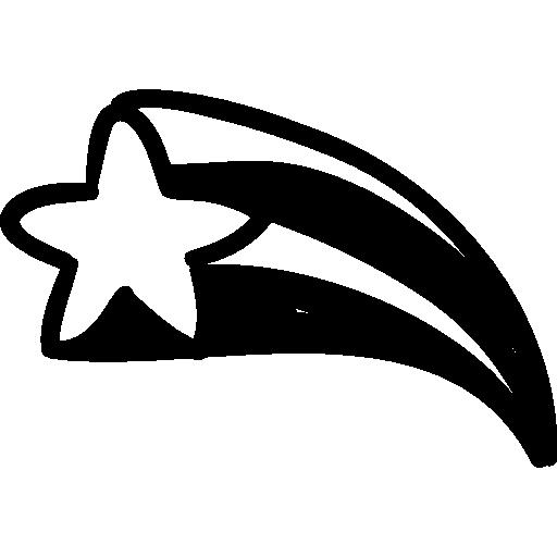 Shooting Star Drawing