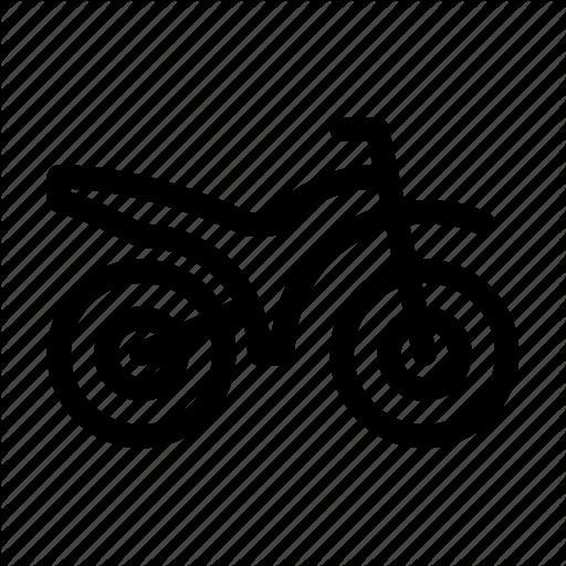 Moto, Moto Bike, Motobike, Motocross, Motorcycle, Vehicle Icon