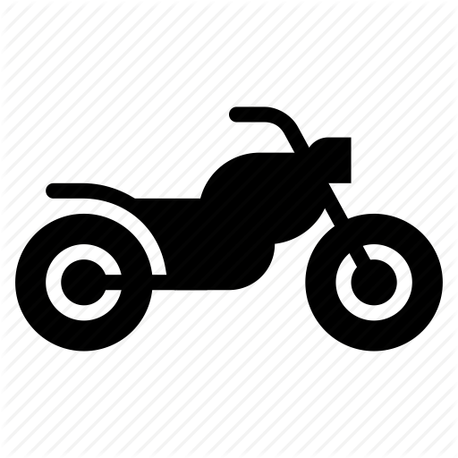 Bike, Chopper, Moto, Motorbike, Motorcycle, Transport, Vehicle Icon