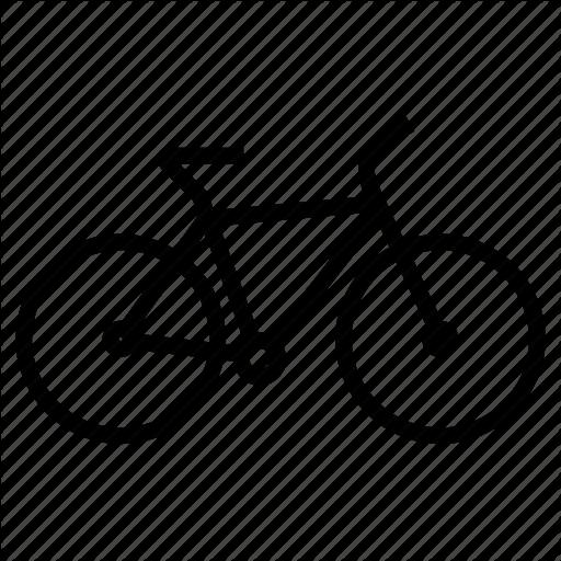 Bicycle, Bike, Biking, Cycling, Mountain Bike, Sport Icon