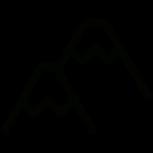 Mountains Icon Free Of Mountans