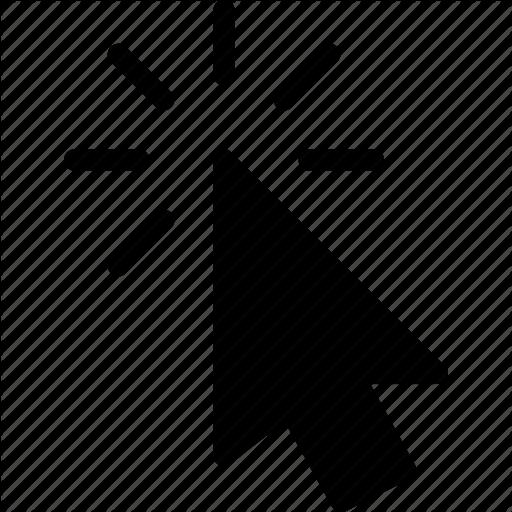 Arrow, Click, Cursor, Finger, Mouse Icon