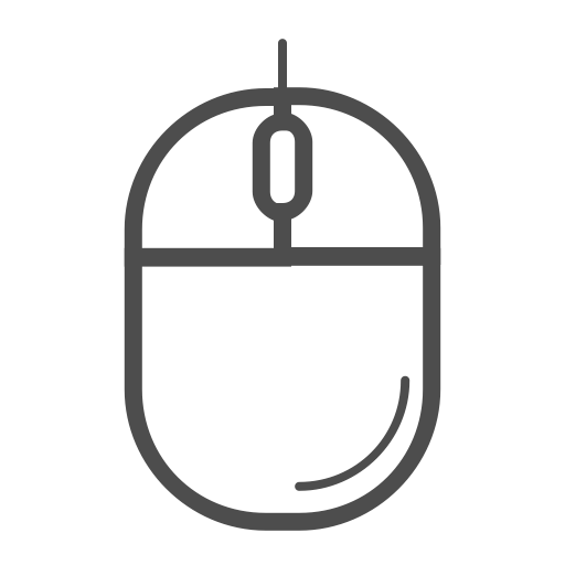 Computer Mouse Icon, Computer Mouse Line Icon, Mouse, Mouse Icon