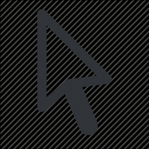 Cursor, Left, Mouse, Pointer Icon