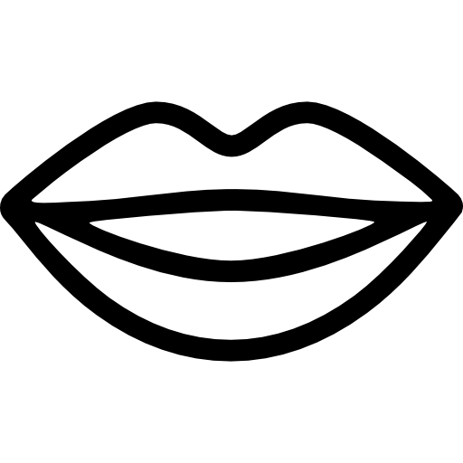 Smiling Lips Icons Free Download