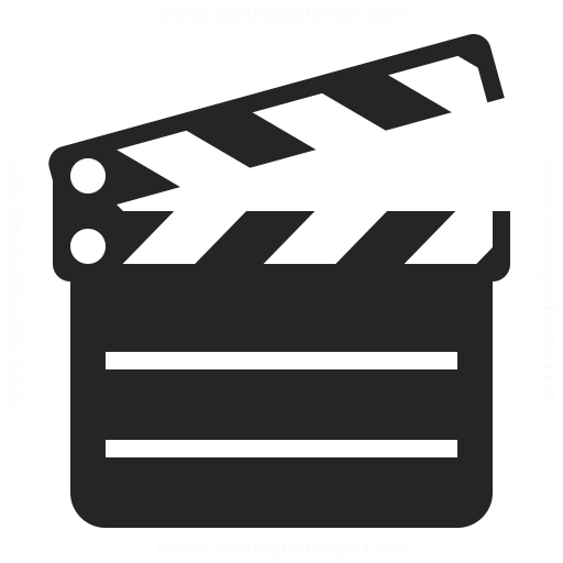 Clapperboard Icon Iconexperience
